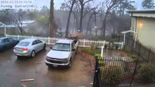 آسمانی بجلی گرنے کی لائیو ویڈیو