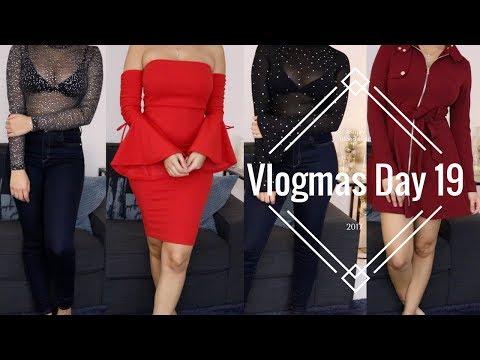 Vlogmas Day 19 | My Favourite Banana Bread Recipe, Fashion Nova Haul | Ashley Bloomfield