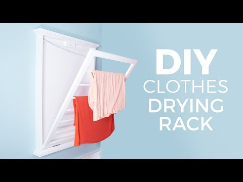 DIY Clothes Drying Rack | How to Make