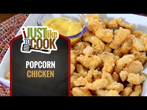 Crispy Fried Popcorn Chicken Recipe