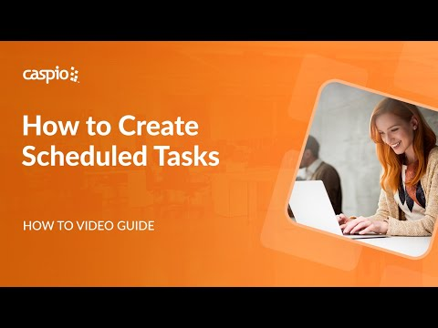 How to Create a Scheduled Task to Automatically Import Data to Caspio