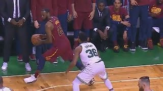 LeBron James Hits Impossible Fadeaway 3 Pointer on Marcus Smart! Cavaliers vs Celtics Game 2