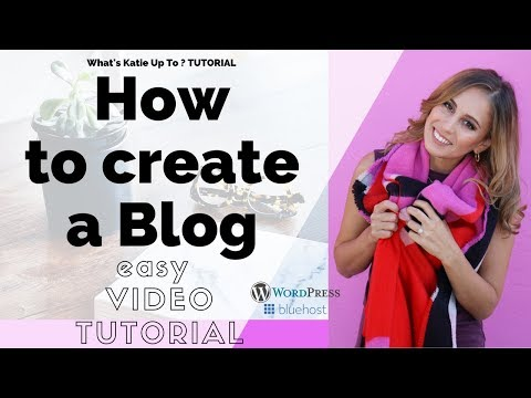 How to create a Wordpress Blog with Bluehost