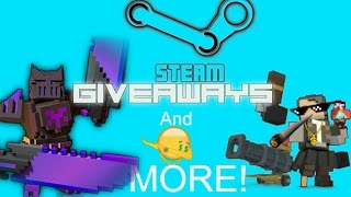 (FREE)STEAM GAME CODE GIVEAWAYS & In-Game[Trove] Prizes To Be Won(Friday Giveaways)