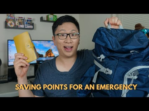 How to Create an Emergency Fund Using Points and Miles