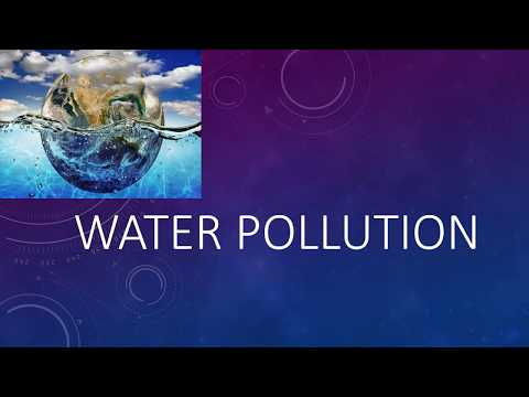 ppt on Water pollution