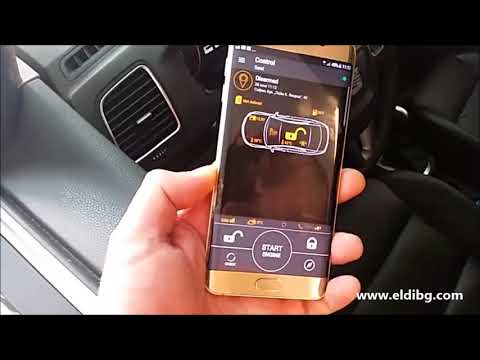 Pandora car alarm with remote start engine and telemetry systems for Seat