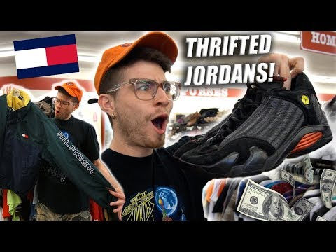 Trip to the Thrift #225 | $2 JORDAN 14s and TOMMY GRAILZ!