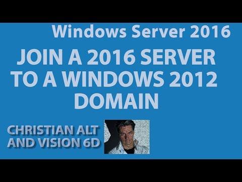 #2 Windows Server 2016 ●  Join A 2012 Domain  ●  3 min