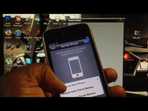Activate Your iPhone 4 & iPhone 3gs On 5.0.1 / 5.1 / 5.1.1 Without A Sim Card