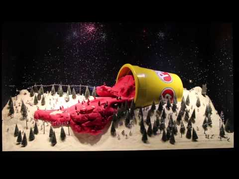 Selfridges Christmas Window- Play Doh