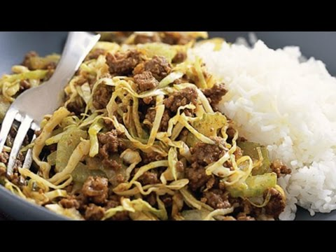 How to: Ground Beef & Cabbage