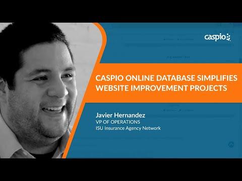 Caspio Case Study: ISU Insurance Agency Network