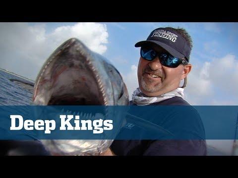 Slow Trolling For King Mackerel With Downriggers - Florida Sport Fishing TV