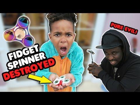 EVIL Dad Destroyed My Fidget Spinner! | A Typical Sunday Vlog!!