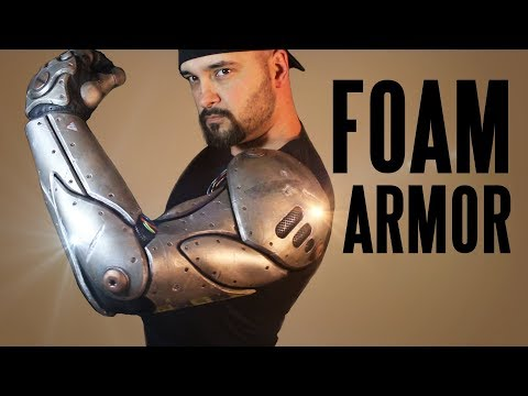 Cable Cosplay Bionic Arm tutorial...in EVA FOAM!