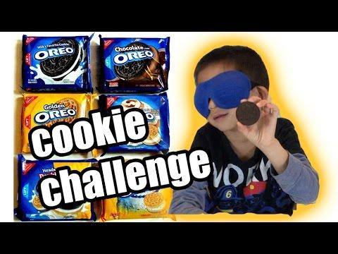 OREO Challenge!! BLIND Taste Test!