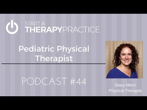 Pediatric Physical Therapist Stacy Menz
