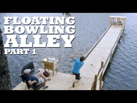FLOATING Bowling Alley - Part 1 - Pins, Setter & Lane