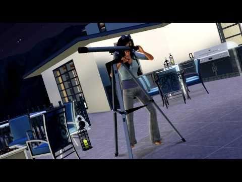 Sims 3 Alien Abduction - (Custom Animation Test)