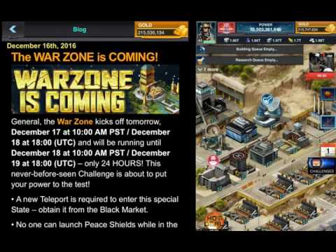 Mobile Strike WARZONE CHALLENGE - TONS OF BATTLE REPORTS