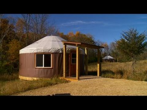 State Parks Offering New Camping Experience — Yurts