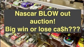 Nascar Blow Out! I take stacks of NASCAR die cast to auction... will it pay off?
