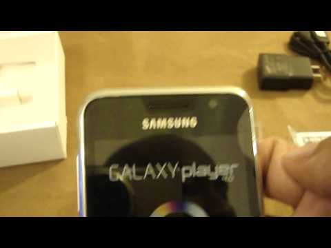 Unboxing & Hands On of the Samsung Galaxy Player 4.0