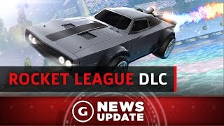 Rocket League/Fast And The Furious Mash-Up DLC Revealed - GS News Update