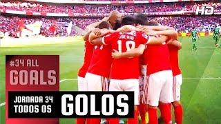 Todos os golos (34ªJ) | All Goals (Day 34)
