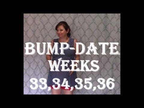 Bump Update weeks 33-36 Getting Closer Yeah!!!