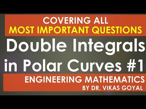 Double Integrals in Polar Curves #1 in Hindi (M.Imp) - Engineering  Mathematics