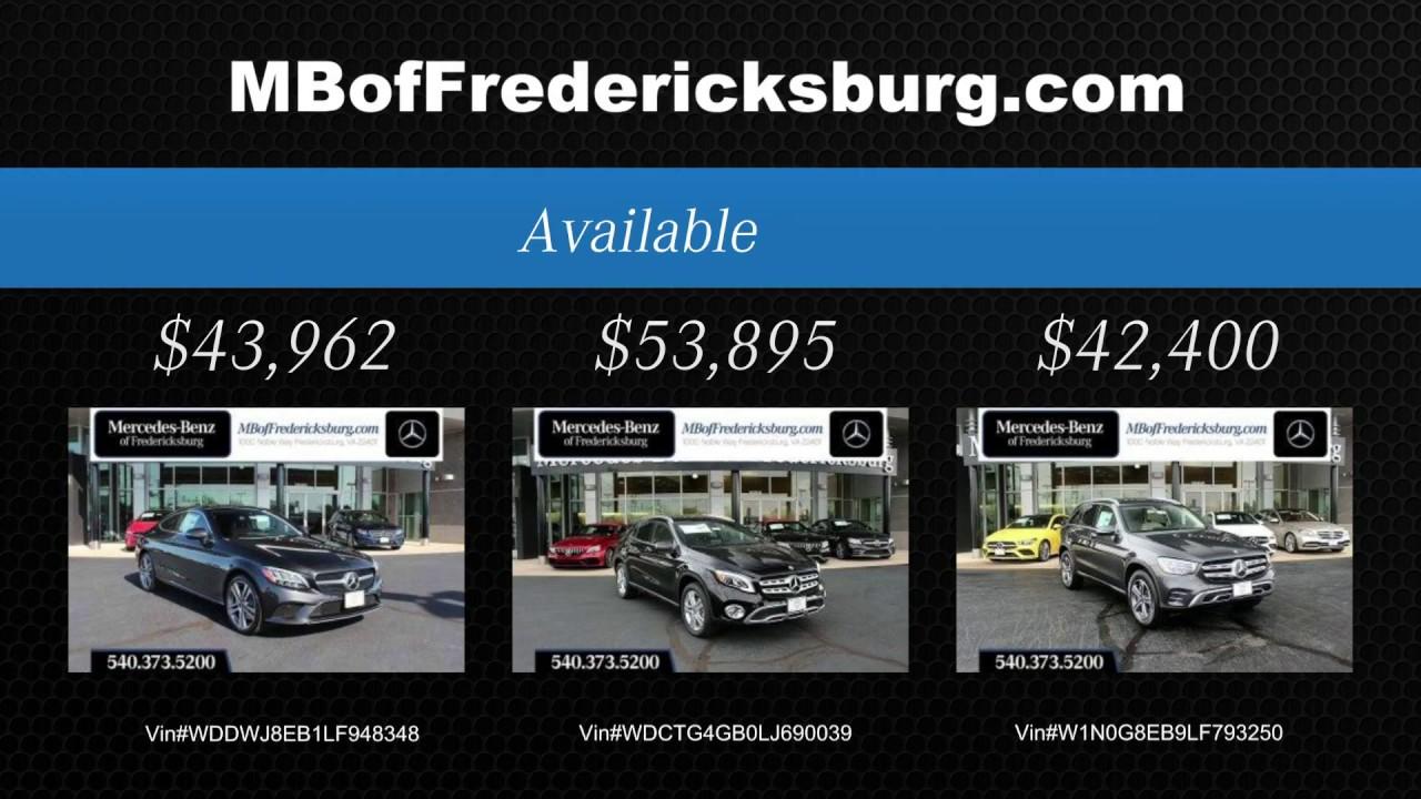 Shop and Save at Mercedes-Benz of Fredericksburg!