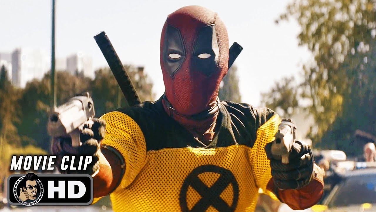 """DEADPOOL 2 Clip - """"Deadpool vs. Firefist"""" (2018)"""