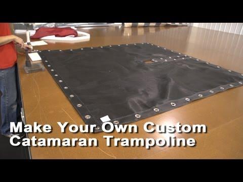 Make Your Own Custom Catamaran Trampoline