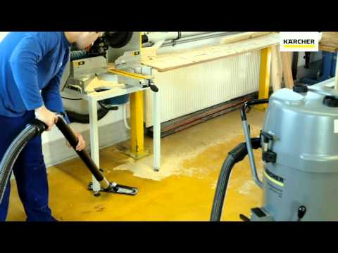 Prof  Kärcher Industrial Vacuums General Working cleaning