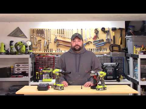 Impact driver vs impact wrench - or just use a hammer drill