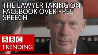 Joachim Steinhoefel, the lawyer taking on Facebook over free speech - BBC Trending
