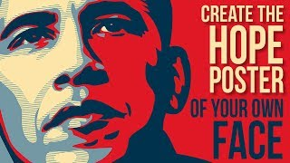 Create The Obama Hope Poster Style In Adobe Illustrator