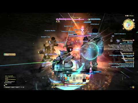 FINAL FANTASY XIV ONLINE beta #8 PS4! 720p - Español
