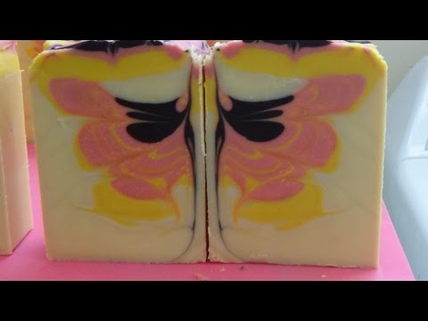 StarrSoaps Lollipop Butterfly