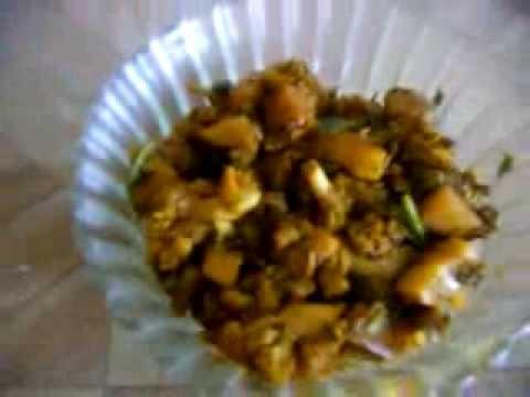 Aloo gobi dry fry [Potato califlower masala recipe in tamil]