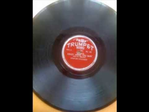 SONNY BOY WILLIAMSON -  EYESIGHT TO THE BLIND -  CRAZY ABOUT YOU BABY -  TRUMPET 129     78 rpm