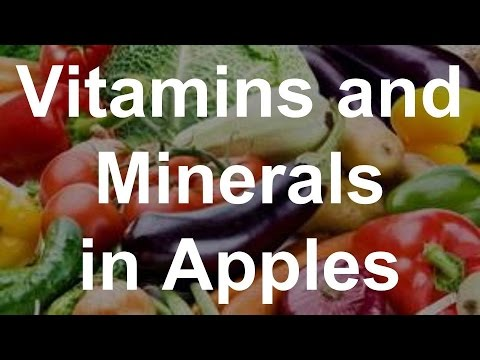 Vitamins and Minerals in Apples - Health Benefits of Apples