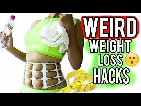 14 WEIRD Weight Loss Hacks That Actually Work!