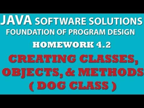 4-2 Java: Creating Dog Class (Java Classes, Objects, Methods)