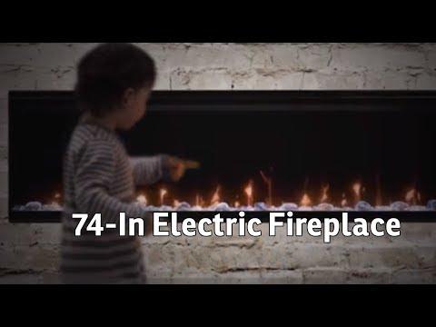 Dimplex IgniteXL 74 In Electric Fireplace