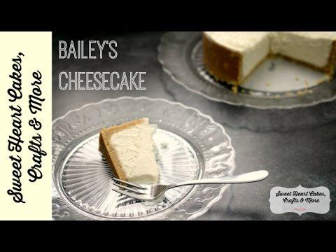 No Bake Bailey's Cheesecake