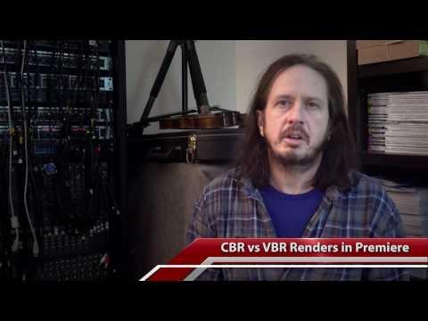Understanding CBR vs VBR Encoding in Adobe Premiere