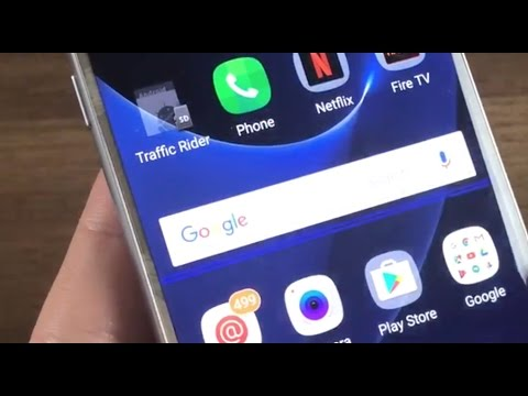 Galaxy S7: How to Remove Blue Scanning Line